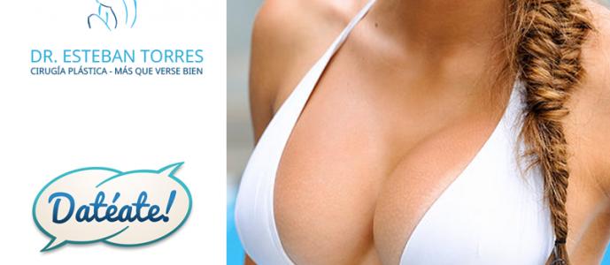 , Dr. Esteban Torres hablando sobre implantes mamarios en Datéate.cl