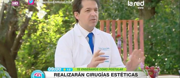 , Doctor Torres hablando de Fundación Mujer 2.0 en Hola Chile