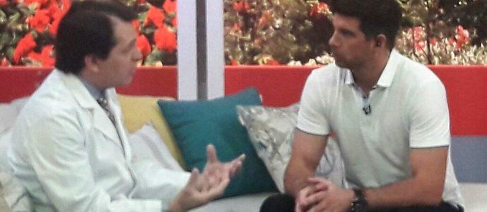 """, Doctor Esteban Torres estuvo en el programa """"Sabores"""" hablando sobre quemaduras"""