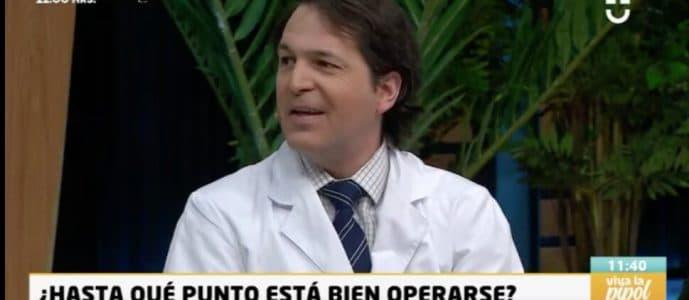 , Dr. Esteban Torres participó en panel televisivo sobre cirugías plásticas en CHV