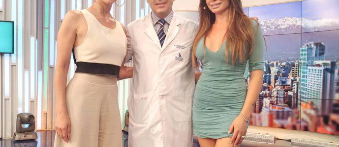 , Dr . Esteban Torres explica la cirugía de reconstrucción de boca de Roxana Muñoz